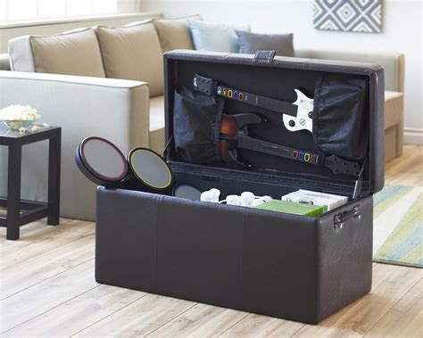 your zone gaming storage ottoman black gaming storage ottoman universal gaming storage ottoman