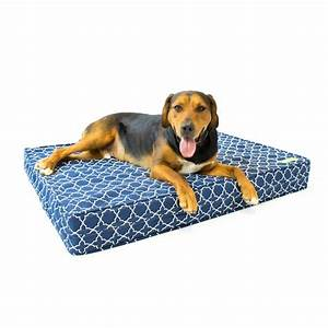 big barker pillow top orthopedic dog bed with headrest big With big barker dog beds on sale