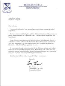 Eagle Scout Resume Letter by Eagle Scout Recommendation Letter Sle Crna Cover Letter