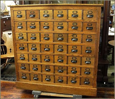 Vintage Library Card File Cabinet by Antique Library Card Catalog Cabinet Home Design Ideas