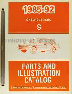 1988 Chevy Nova Repair Shop Manual Original