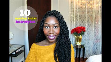 10 Easy Marley Twist Hairstyles!