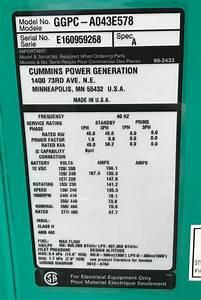 New Cummins 45kw Propane Generator
