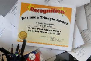 Funny Office Award Ideas