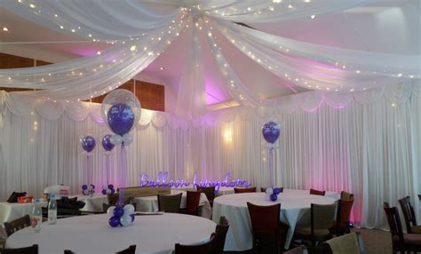 white wall drapes venue dressing windsor wrasbury