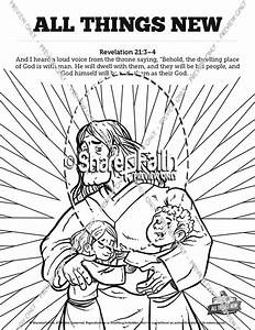 revelation 21 all things new sunday school coloring pages With current reviews 1