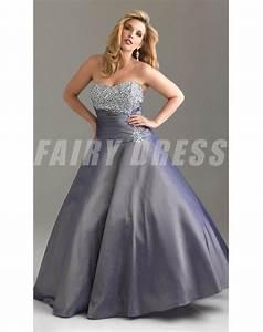 robe de grande taille a a ligne sans bretelle decolletee With fond de robe sculptant sans bretelle