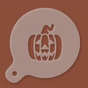 Halloween Kürbis Schablone : cappuccino schablone halloween k rbis ~ Lizthompson.info Haus und Dekorationen