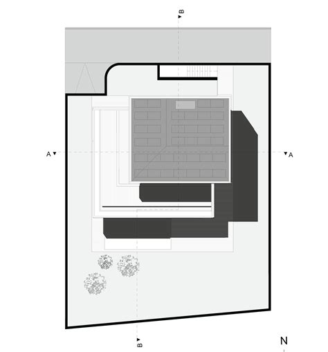 design a house plan gallery of m2 house monovolume architecture design 23