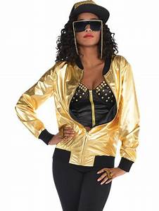 Party Invitations For Girls 90 39 S Hip Hop Gold Jacket Costume Party Delights