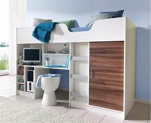 Schrank 160 Hoch : moderne hochbetten optimal f r kleine kinderzimmer ~ Markanthonyermac.com Haus und Dekorationen