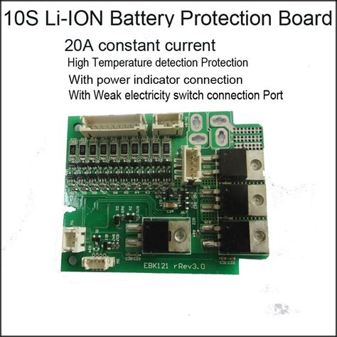 High Level Lithium Ion Battery Protection Circuit