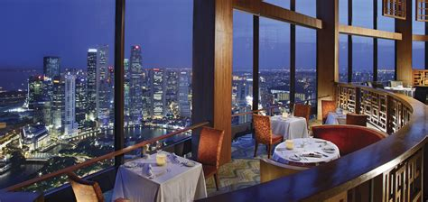 equinox cuisine 10 places with the best views of singapore from up high