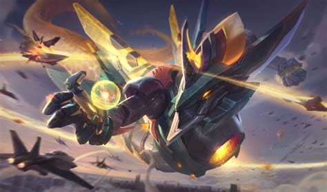 Anime Mecha Wallpaper - mecha aurelion sol lol wallpapers