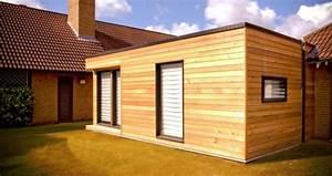 Extension Maison Bois Kit : extension en ossature bois kitmaisonbois ~ Melissatoandfro.com Idées de Décoration