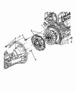 2003 Dodge Ram 1500 Clutch Assembly