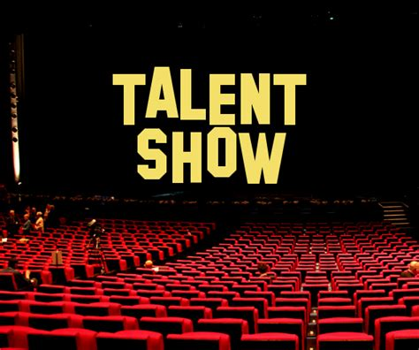 talent show friday   genevieve didion