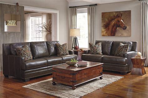corvan antique living room set  ashley