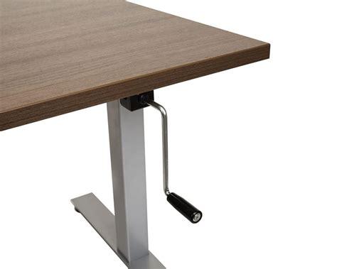 Standing Desk  Classic Crank Adjustable Standing Desk Table