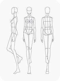 Download Fashion Figure Templates – Prêt-à-Template