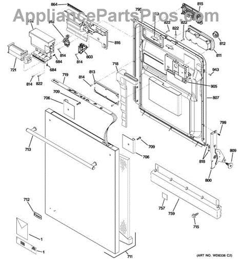 ge wdx keypad appliancepartsproscom