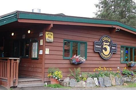 chair 5 restaurant girdwood alaska chair 5 restaurant girdwood menu prices restaurant