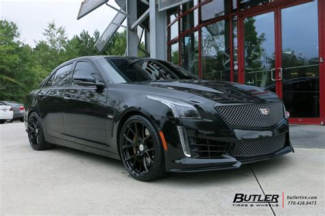 Cadillac Ctsv With 20in Vossen Vfs6 Wheels Exclusively