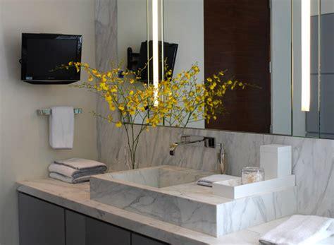 marble sink contemporary bathroom jackson paige