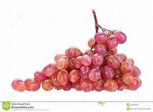 Single Bunch Of Pink Grape Stock Photos - Image: 14461943