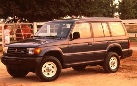 how does cars work 1992 mitsubishi montero parking system maintenance schedule for 1993 mitsubishi montero openbay