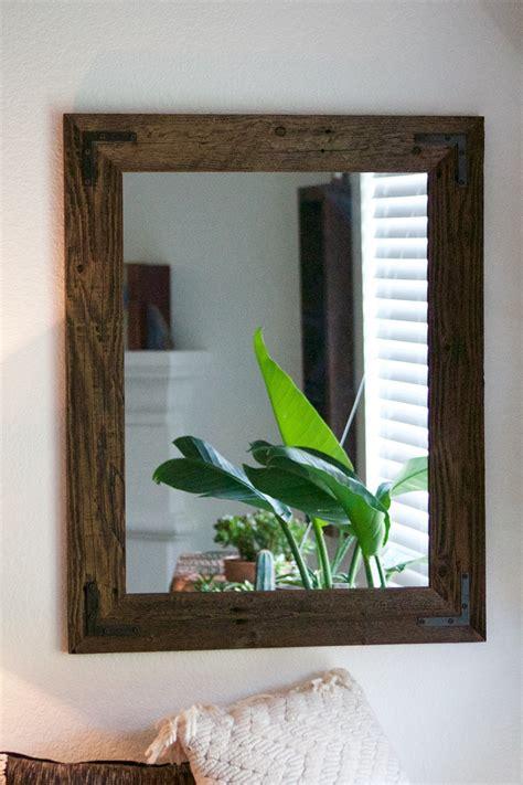 Wood Bathroom Mirrors by Wood Bathroom Mirror
