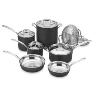 cuisinart mcu  multiclad unlimited dishwasher safe  piece cookware set