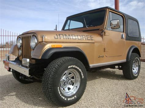 1982 jeep jamboree 1982 jeep cj7 collector jamboree edition 30th anniversary