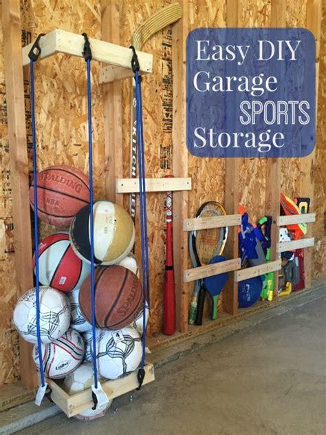garage sports storage easy diy garage sports storage giveaway pretty