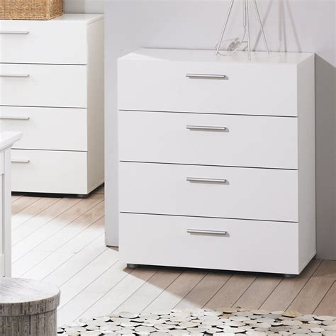 Temporary Drawers by White Large Bedroom Dresser Storage Drawer Modern 4 Wood