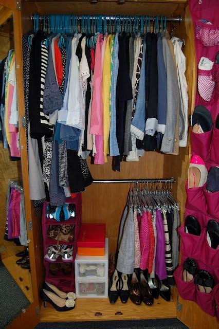 College Closet Organization Ideas by How To Fit Everything In Your Closet By
