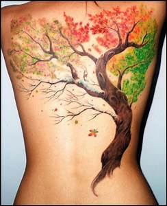 40 Unforgettable Fall Tattoos | Autumn leaves falling ...
