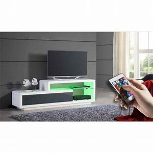 Meuble Tv C Discount : meuble tv design moss achat vente meuble tv meuble tv design moss cdiscount ~ Teatrodelosmanantiales.com Idées de Décoration