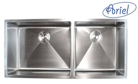 extjs kitchen sink 42 ariel 42 inch stainless steel undermount bowl
