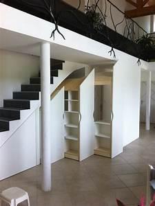 Aménagement Sous Escalier : amenagement placard sous escalier survl com ~ Preciouscoupons.com Idées de Décoration
