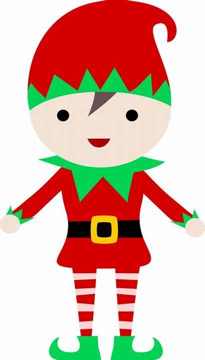 Elf Shelf Santa Christmas Drawing Clipart Claus