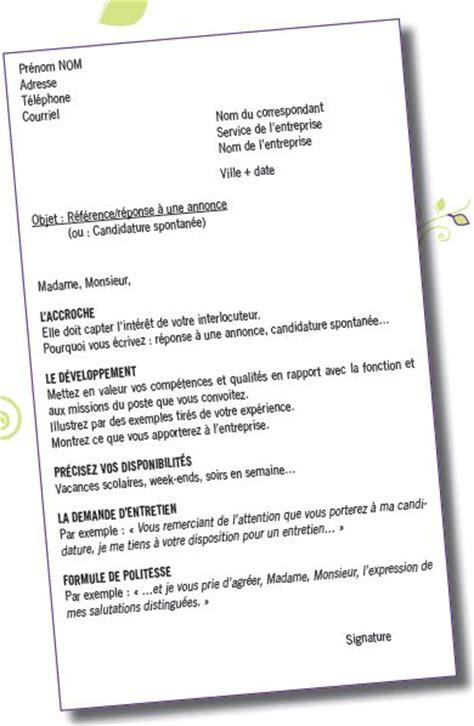 modele lettre de motivation gratuite vendeuse document