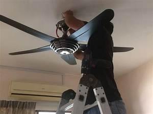 Perkhidmatan Pendawaian Elektrik  Pasang Lampu Dan Kipas