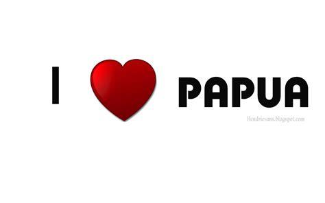 Aku Papua Black hendrievans i papua wallpaper