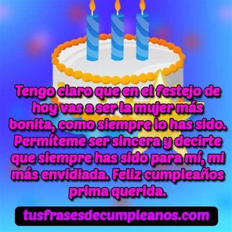 Mensajes de Feliz Cumpleaños para una【 PRIMA o PRIMO 】Top