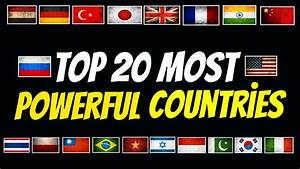Top 20 Most Powerful Military Countries In The World 2018 ...