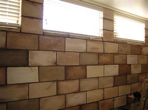 Painting Cinder Blocks To Look Like Brick Cinder