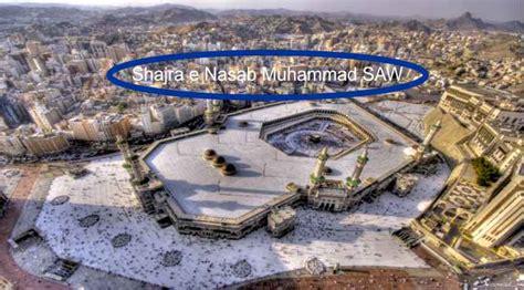 .kita sudah mengetahui silsilah keturunan nabi muhammad saw. Shajra e Nasab Nabi Muhammad SAW - Silsilah Nabi Muhammad SAW   Education News