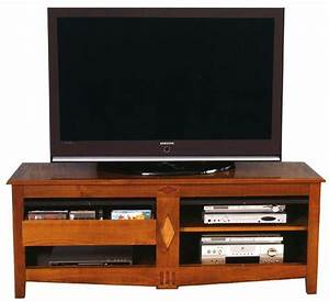 Meuble Tele Bas : meuble tele merisier maison design ~ Teatrodelosmanantiales.com Idées de Décoration