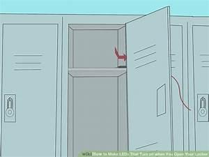 Pimp Your Locker : how to make leds that turn on when you open your locker 9 steps ~ Eleganceandgraceweddings.com Haus und Dekorationen